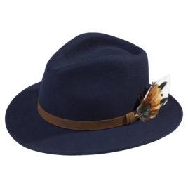 Richmond Felt Hat – Unisex – Navy
