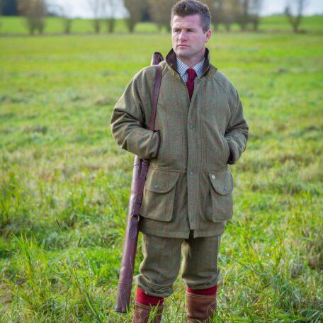 Alan Paine Combrook Tweed Men's Coat & Breeks in Sage