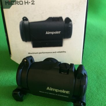 Aimpoint Micro H-2 with Blaser saddle mount
