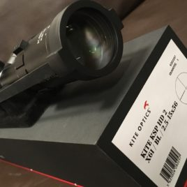 Kite Optics Rifle Scope  KSP HD2  2.5-15x56i