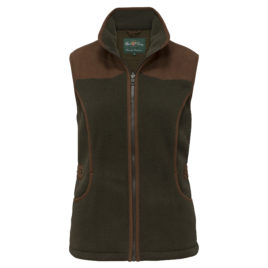 Alan Paine Alysham Ladies Shooting Gilet – Green