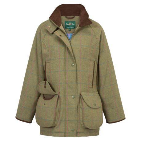 Alan Paine Combrook Ladies Coat in Juniper