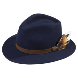 Richmond Felt Hat – Unisex – Navy