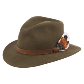 Richmond Felt Hat – Unisex – Olive