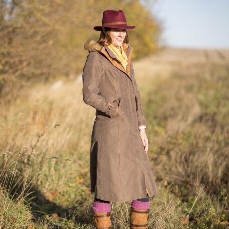 Alan Paine Berwick Waterproof Long Coat