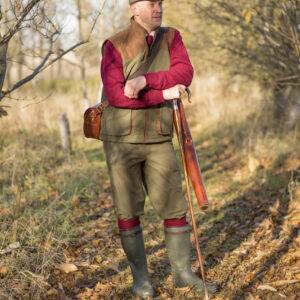 Berwick Mens Waterproof Shooting Waistcoat – Olive