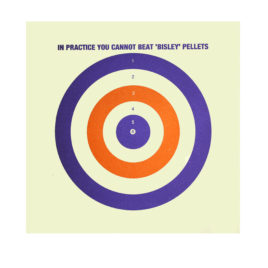 Bisley Coloured Targets 1000 pack