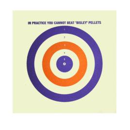 Bisley Coloured Targets 1000 pack