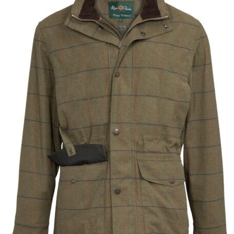 Alan Paine Axford Men's Field Coat in Basil (3)