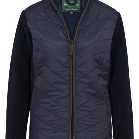 Alan Paine Highshore Ladies Jacket in Dark Navy
