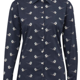 Alan Paine Lawen Ladies Shirt – Pheasant print