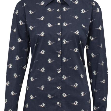 Alan Paine Lawen Ladies Printed Shirt PR002 Pheasant