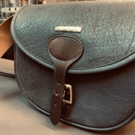 Water Buffalo Leather Cartridge Bag