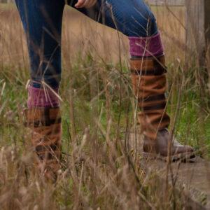 Alan Paine Ladies Socks – range of colours