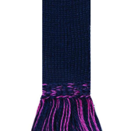 Classic Garter Ties. Navy-Dusky Pink