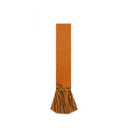 Classic Garter Ties. Ochre-Spruce