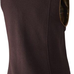 Harkila Ladies Sandhem Fleece Waistcoat Dark Port Melange